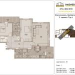 Apartamente de vanzare Brancoveanu Residence 9 -3 camere tip A