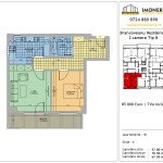 Apartamente de vanzare Berceni Brancoveanu Residence 8 -2 camere tip B