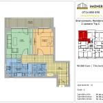 Apartamente de vanzare Berceni Brancoveanu Residence 8 -2 camere tip C