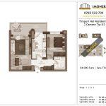 Apartamente de vanzare Timpuri Noi Residential -2 Camere tip D2 1-3-