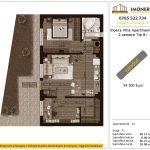 Apartamente de vanzare Ilioara Villa Apartments 2 -3 camere tip B