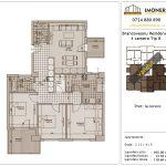 Apartamente de vanzare Brancoveanu Residence 8 -4 camere tip B