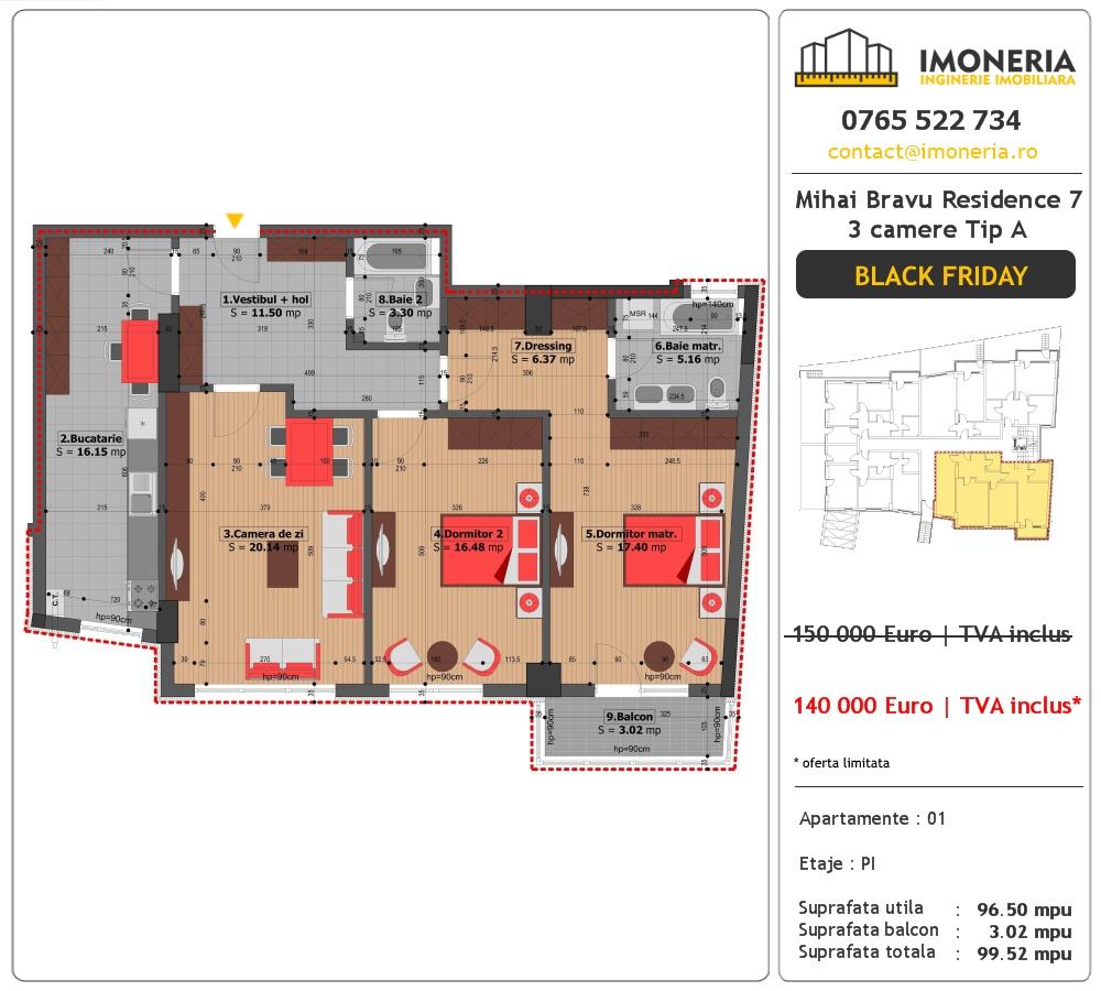 apartamente-de-vanzare-mihai-bravu-residence-7-3-camere-tip-a