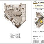 Apartamente de vanzare Sun Plaza Il Patio Apartments 1 -2 camere Tip B -vd