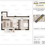 Apartamente de vanzare Titan Burnitei Villa Apartments -2 camere tip BV