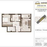 Apartamente de vanzare Burnitei Residential 2-2 camere tip F