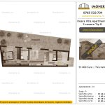 Apartamente de vanzare Ilioara Villa Apartments 3 -2 camere tip A-V