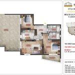 Apartamente de vanzare Mihai Bravu Residence 10 -3 camere tip C