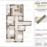 Apartamente de vanzare Burnitei Residential 1-3 camere tip A