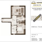 Apartamente de vanzare Burnitei Residential -2 camere tip B'