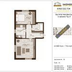 Apartamente de vanzare Burnitei Residential -2 camere tip E'