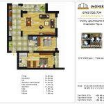 Apartamente de vanzare Dristor -Incity apartments D -3 camere tip A