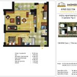 Apartamente de vanzare Dristor -Incity apartments D -3 camere tip C