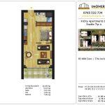 Apartamente de vanzare Dristor -Incity apartments D -Studio
