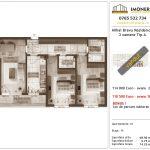 Apartamente de vanzare Mihai Bravu Residence 9 -3 camere tip A