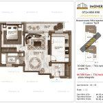 Apartamente de vanzare Berceni - Brancoveanu Villa Apartments -2 camere tip B