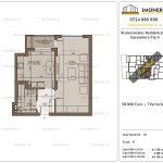 Apartamente de vanzare Brancoveanu Residence 10 -Garsoniera tip A
