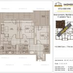 Apartamente de vanzare Brancoveanu Residence 8 -3 camere tip A