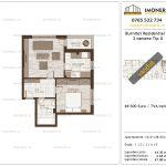 Apartamente de vanzare Burnitei Residential 1-2 camere tip G