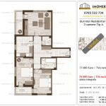 Apartamente de vanzare Burnitei Residential 2-3 camere tip A