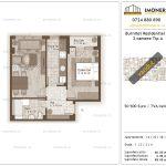 Apartamente de vanzare Burnitei Residential 3-2 camere tip A