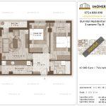 Apartamente de vanzare Burnitei Residential 3-3 camere tip B