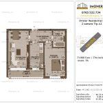 Apartamente de vanzare Dristor Residential 1 -2 camere tip A2