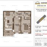 Apartamente de vanzare Dristor Residential 1 -2 camere tip B111