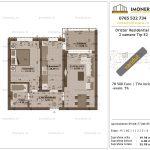 Apartamente de vanzare Dristor Residential 1 -2 camere tip E2