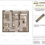 Apartamente de vanzare Dristor Residential 1 -2 camere tip F1