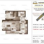 Apartamente de vanzare Dristor Residential 2 -2 camere tip A'
