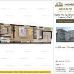 Apartamente de vanzare Ilioara Villa Apartments 3 -2 camere tip B