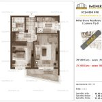 Apartamente de vanzare Mihai Bravu Residence 10 -2 camere tip D
