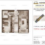 Apartamente de vanzare Mihai Bravu Residence 9 -2 camere tip C'