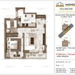 Apartamente de vanzare Berceni - Brancoveanu Villa Apartments -2 camere tip A