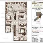Apartamente de vanzare Berceni - Brancoveanu Villa Apartments -3 camere tip A
