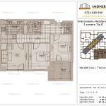 Apartamente de vanzare Brancoveanu Residence 8 -3 camere tip B'