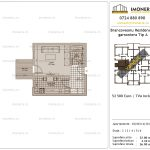 Apartamente de vanzare Brancoveanu Residence 8 -Garsoniera tip A