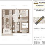 Apartamente de vanzare Burnitei Residential 3-2 camere tip D