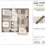 Apartamente de vanzare Burnitei Residential 3-2 camere tip E