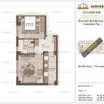 Apartamente de vanzare Burnitei Residential 3-2 camere tip I