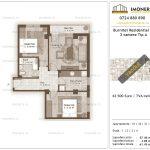 Apartamente de vanzare Burnitei Residential 3-3 camere tip A