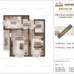 Apartamente de vanzare Mihai Bravu Residence 9 -2 camere tip D'
