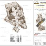 Apartamente de vanzare Piata Sudului - Sun Plaza Il Patio Apartments 2 -3 camere Tip A