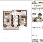 Apartamente de vanzare Timpuri Noi Residential -2 Camere tip A2 1-2