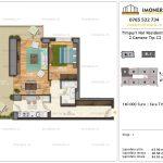 Apartamente de vanzare Timpuri Noi Residential -2 Camere tip C2 1