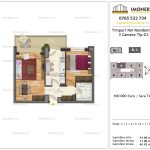Apartamente de vanzare Timpuri Noi Residential -2 Camere tip D2 2-9