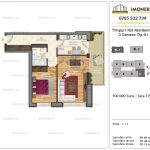 Apartamente de vanzare Timpuri Noi Residential -2 Camere tip G1