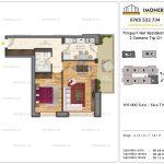 Apartamente de vanzare Timpuri Noi Residential -2 Camere tip G1. 5-9