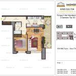 Apartamente de vanzare Timpuri Noi Residential -2 Camere tip G2-1